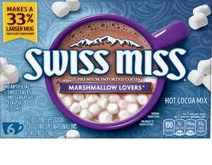 Swiss Miss Marshmallow Lovers Hot Cocoa Mix 6-(1.38oz)