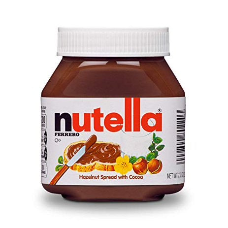 Nutella Chocolate Hazelnut Spread (7.7oz)