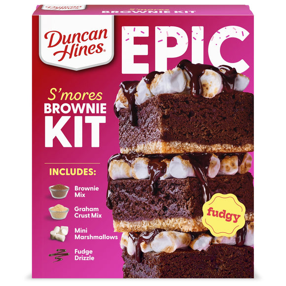 Duncan Hines Smores Brownie Mix Kit (24.16oz)