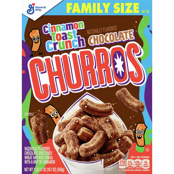 Cinnamon Toast Crunch Chocolate Churros Cereal (19.7oz)