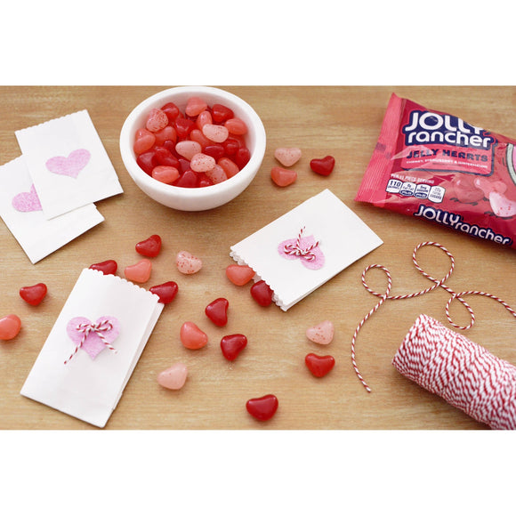 Jolly Rancher Valentine's Hearts Candy Pouch (13oz)