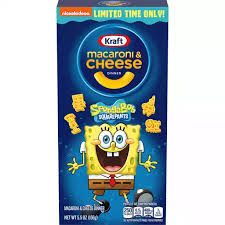 Kraft Spongebob Squarepants Macaroni & Cheese Dinner (5.5oz)