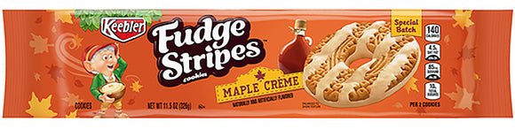 Keebler Fudge Stripes Maple Creme Cookies (11.5oz)