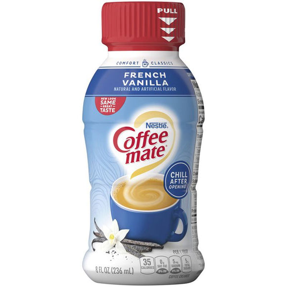 Nestlé Coffee Mate French Vanilla Liquid Coffee Creamer (8oz)