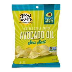 Good Health Kettle Style Chips Avocado Oil Sea Salt (2.5oz)