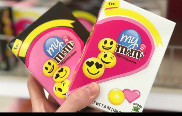 M&M's Valentine Emoji Gift Box (7oz)