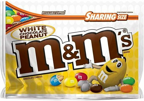 M&M'S White Chocolate Peanut Candy (9.6oz)