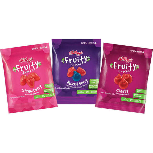 Kellogg's Fruity Snacks (2.5oz)