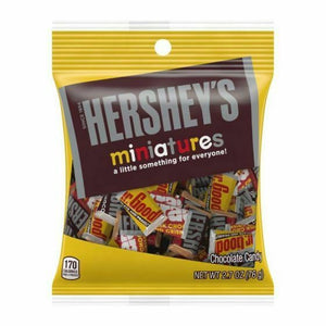 Hershey's Miniatures Peg Bag (2.7oz)