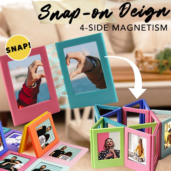 Magframes Magnetic Polaroid Frames