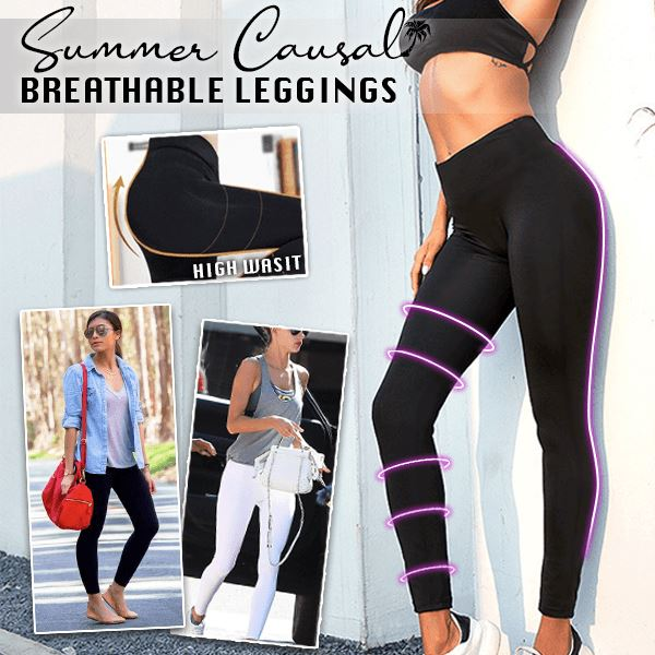 Summer Causal Breathable Leggings
