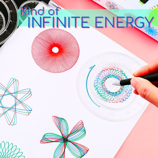 Spirograph Drawing Kit