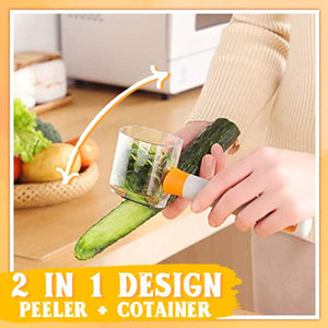 Veggies Peeler With Container