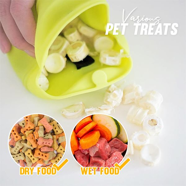 Outdoor Training Dog Treat Bag