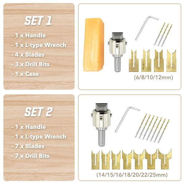 Wooden Bead Drilling Kit