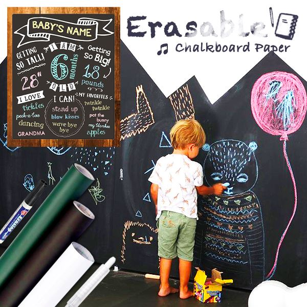 Erasable Chalkboard Paper