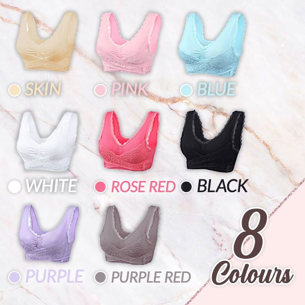 Front Cross Side Buckle Push-Up Bra