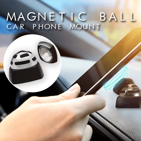 360° Magnetic Ball Car Phone Mount
