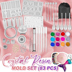 DIY Crystal Resin Mold Set (83PCS)