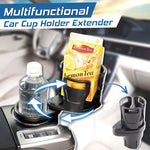 Multifunctional Car Cup Holder Extender