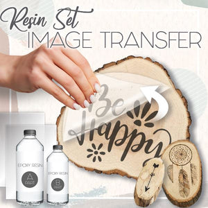 DIY Image Transfer Resin Set