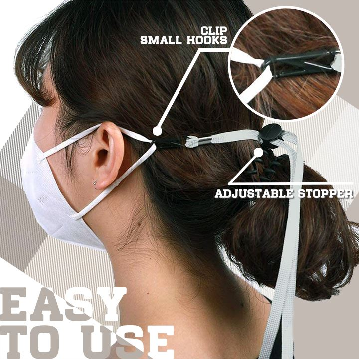 Adjustable Ear-Saver Lanyard