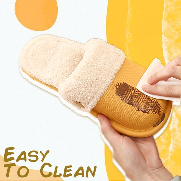 Washable Fluffy Warm Slippers