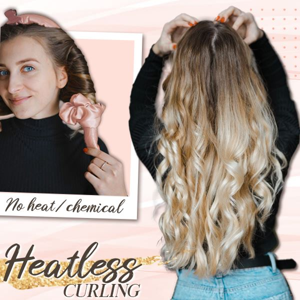 Heatless Hair Curling Hairband