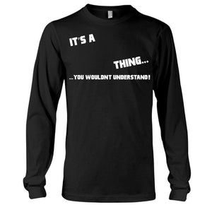 It's A Thing Long Sleeve Tee harmoninie