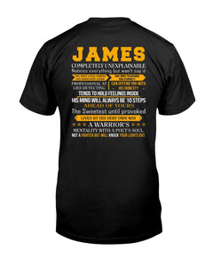 James - Completely Unexplainable Classic T-Shirt harmoninie Classic T-Shirt Black S