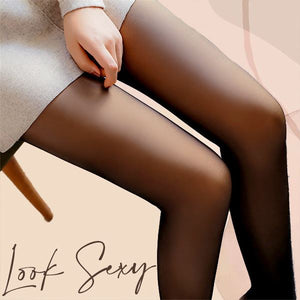 Sexy Women Fake Translucent Pantyhose