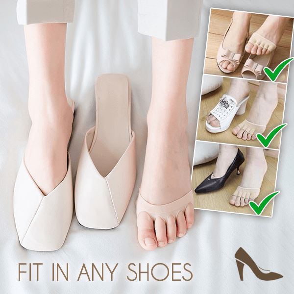 ByePain Non-Slip Invisible Toe Socks (BUY 1 GET 1 FREE) (2 PAIRS)
