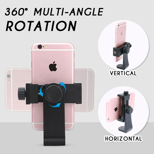 360° Stand & Clip Phone Holder