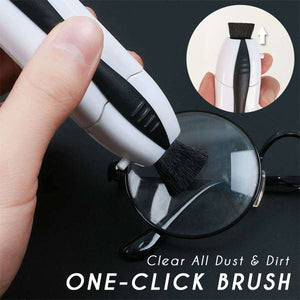 2 In 1 Portable Glasses Cleaner