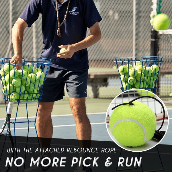 Fill & Drill Tennis Self-Training Kit