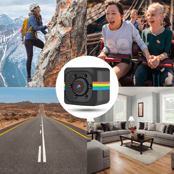 Qubic Full-HD Mini Camera