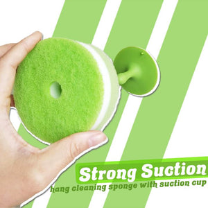 Suction Cup Cleaning Sponge
