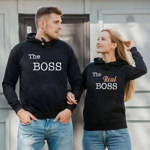 The Boss & The Real Boss Hooded Sweatshirt