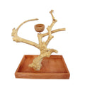 Java Wood Table Top Stand AE500S - Small
