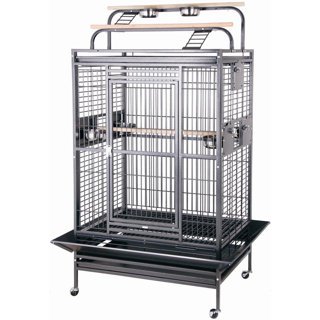 "HQ 36"" x 28"" x 68"" Double Play Top Cage"