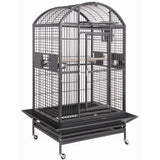 "HQ 36"" x 28"" x 68"" Dome Top Cage"