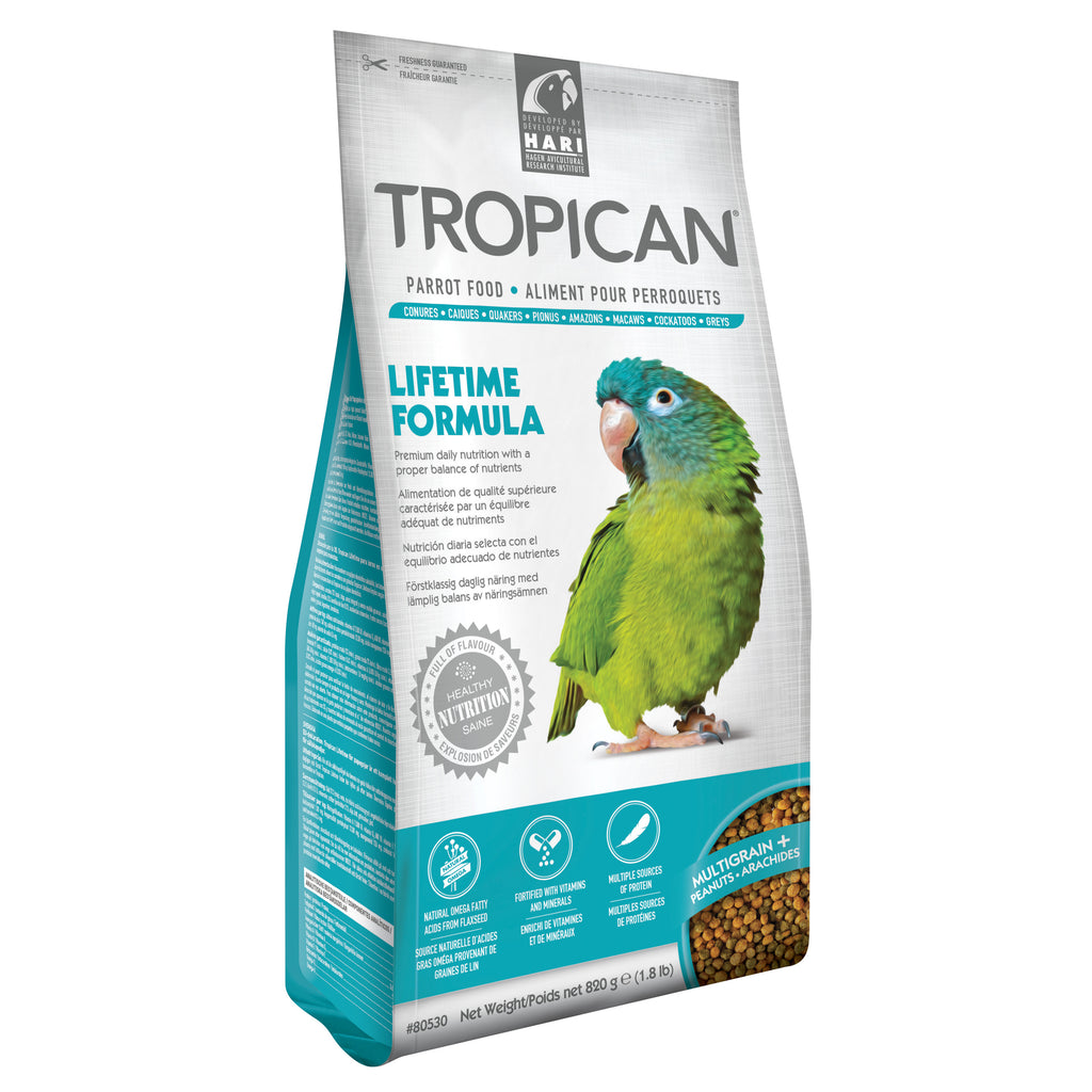Tropican Lifetime Parrot 1.8 lb