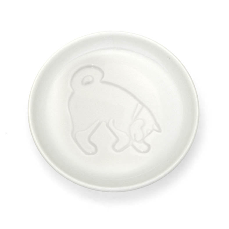 Canine soy sauce dish, looking for [Dogs] [Cats] [Tableware] [Small dish] [Dog
