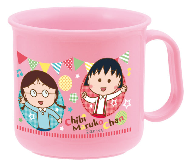 [Made in Japan] Chibi Maruko-chan Heat-Resistant Cups [Microwave OK] [Dishwasher OK