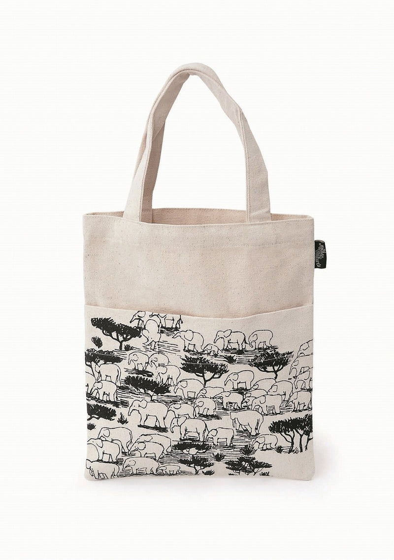 Mother Nature Tote Bag Elephant MONATOEL