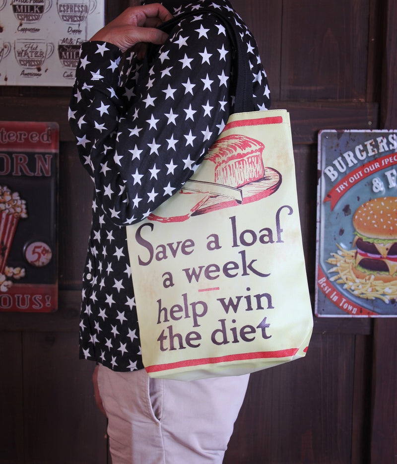 Old poster tote bag Poker OLPOTOPO