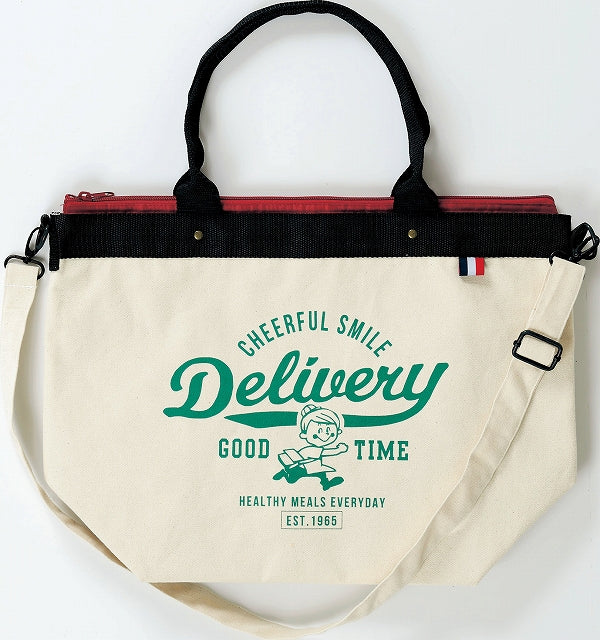 Delivery Cool Tote Bag L Ivory