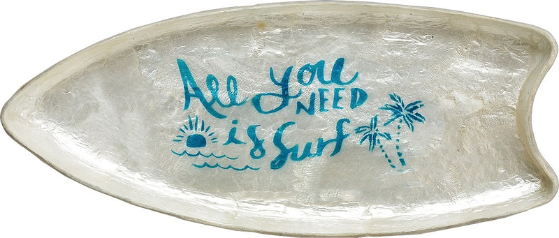 Capis SURF Board Tray Natural / Blue CASUTRNB
