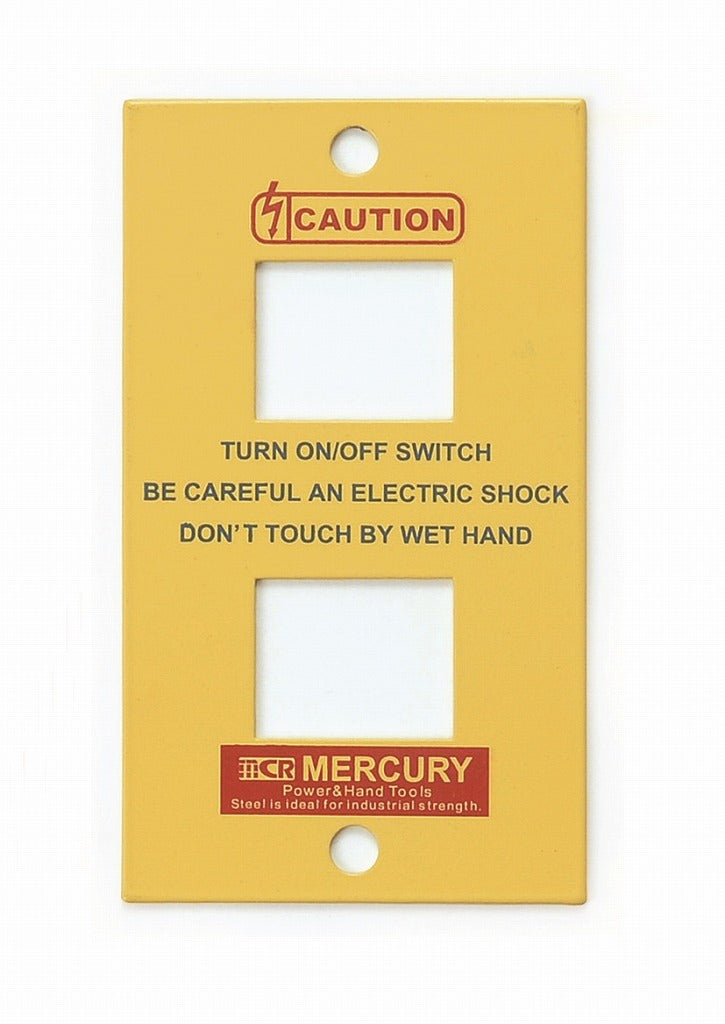 MERCURY Switch Plate 2 Spots Yellow MESWPL2Y