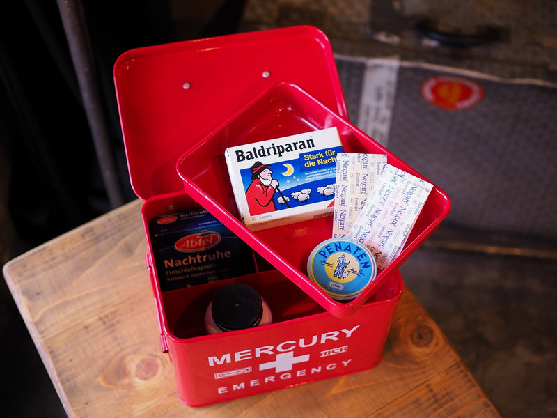 Mercury Emergency Box Red MEBUEBRD